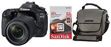 Canon EOS 80D + EF-S 18-135 mm IS STM + Zubehörpaket: 64GB + Tasche ! SLR