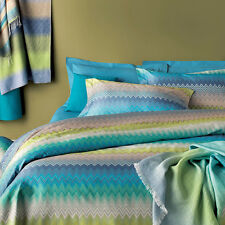 MISSONI HOME SEBASTIAN 170 - 3pcs DUVET COVER - QUEEN 100% PERCALLE COTTON