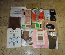 13 Pairs Of Vintage Nylon Stockings Some Fully Fashioned Bundle Job lot
