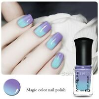 6ml Thermolack Peel Off Farbwechsel Nagellack Nail Color Changing Polish #C007