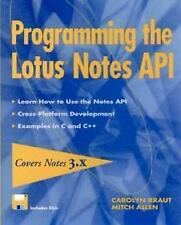 Programming the Lotus? Notes API-ExLibrary