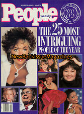 People 01/89,Elizabeth Taylor,George Bush,Lisa Marie Presley,Roseanna Barr,NEW