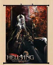 Home Decor Japanese Anime Wall poster Scroll Hellsing RUINS Cosplay  WQ1