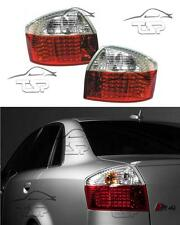 REAR TAIL LED LIGHT WHITE-RED FOR AUDI A4 B6 8E 00-04 LIMOUSINE NEW LAMPS FANALE