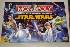 Jeux star wars monopoly  2005 neuf + 8 figurines en métal jeu video games game