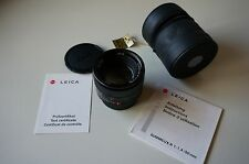 Leica Summilux-R 50mm f1.4 E60 ROM excellent condition