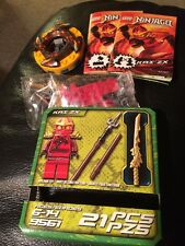 LEGO 9561 Ninjago Kai ZX With Spinner Red Ninja Retired