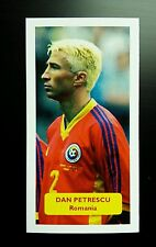ROMANIA - CHELSEA - DAN PETRESCU - Score UK football trade card
