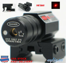 USA STOCK Hunting Red Dot Laser Sight fit11/20mm Rail Mount For Air Gun Scope