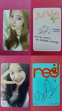 RED VELVET YERI 2pcs Official Photo Card Ice Cream Cake + The Red Photocard