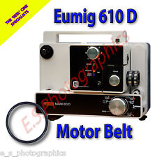 EUMIG 610D 8mm Cine Projector Belt (Main Motor Belt)