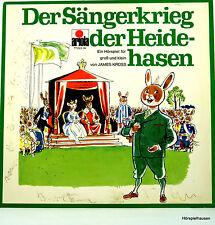LP - DER SÄNGERKRIEG DER HEIDEHASEN - ARIOLA SCHALLPLATTE