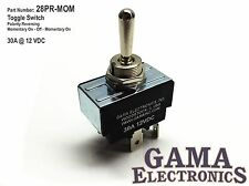 30 Amp Toggle Switch 3 Position Polarity Reversing DC Motor Control-  Momentary