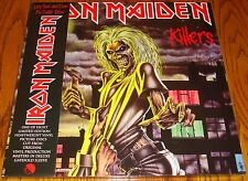 IRON MAIDEN KILLERS LIMITED EDITION PICTURE DISC LP STILL SEALED!