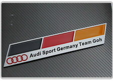 Audi Sport Germany Team Goh Badge Emblem A3 A4 S3 S4 S6 RS3 RS4 TT s line German
