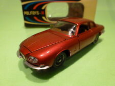 POLITOYS 530 ALFA ROMEO 2600 ZAGATO - METALLIC RED 1:43 VERY RARE - EXCELLENT IB