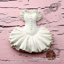 "Shabby Chic Furniture Appliques ""Vintage Chic Ballet Dress(Large)"""