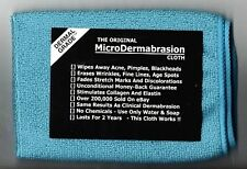 The Original MicroDermabrasion Cloth - Remember These?- Acne Blackheads Wrinkles
