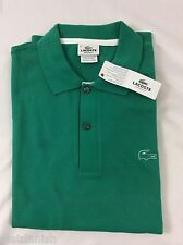 Lacoste Men's Polo Shirt Regular Fit Brand NWT Arbuste Green Size EU 3 US XS