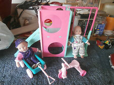 CITI TOY PLAY GROUND TOY PLUS 2 DOLL AND MORE