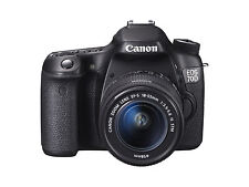 Canon EOS 70D 20.2 Megapixels Digital Camera - Black Kit w/ EF-S 18-55mm IS STM