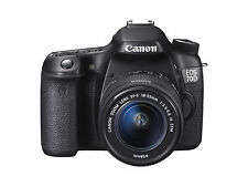 Canon EOS 70D 20.2 Megapixels Digital Camera - Black (Kit w/ EF-S 18-55mm IS...