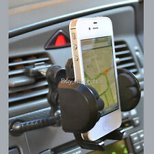 AIR VENT CAR HOLDER FOR iPHONE 3 3G 3GS 4 4S 5 - GREAT QUALITY - EASY FIT