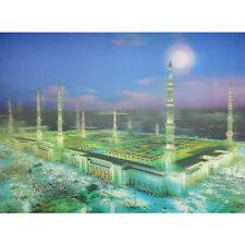 Square Building Lenticular 3D Picture Poster Painting Home Decor Wall Art Decor