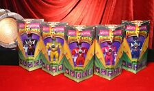 "(5) 1993 Bandai (MIGHTY MORPHIN POWER RANGERS) 8"" Figure Lot, Complete NEW Mint"