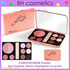 NEW BH Cosmetics FOREVER NUDE Palette-Eye Shadow, Blush & Lip Kit FREE SHIPPING
