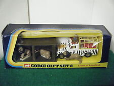 "Corgi No: 8 ""Lions of Longleat Gift Set"" (Original 1973)"