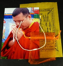 1  x SAI SIN Buddha Sacred CORD BRACELET blessed Buddhist Monk Luck PHA YANT.
