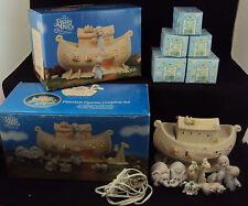 Precious Moments NIGHT LIGHT ~ Noah's Ark Two-by-Two ~ Complete Set w/Boxes