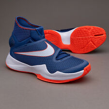Nike Zoom Hyperrev Mens Blue Basketball Boots Shoes Size UK 7, EUR 41