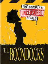 The Boondocks: The Complete Uncensored Series, DVD, Brand New
