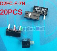 20PCS New Authentic OMRON Mouse Micro Switch D2FC-F-7N Mouse Button Fretting