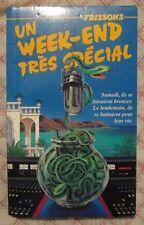 Frissons #22 Un week-end très spécial (French - Octobre 1993)