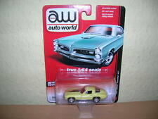 AW Auto World 1967 Chevy Corvette 427 gelb yellow, 1:64