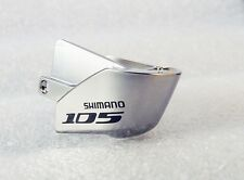 Shimano 105 ST-5700 Right Hand Name Plate w/ Fixing Screw Silver 1pce