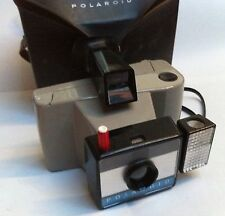 Polaroid Swinger Sentinel Land Camera inc flash unit & case