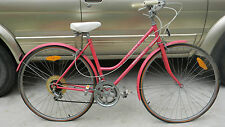 WOMENS  BIKE STEEL FRAME 10 SPEED