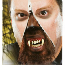 Horror Zipper Face Werewolf Deluxe Makeup FX Kit Halloween Costume Accessory