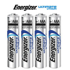 SHRINK pack da 4x AAA Energizer Ultimate Lithium Batterie LR03 DA 1,5 V