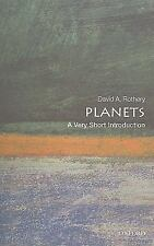 Planets: A Very Short Introduction, Rothery, David A., Good Book
