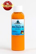 "PALM OIL ""RED"" EXTRA VIRGIN UNREFINED ORGANIC CARRIER COLD PRESSED PURE 2 OZ"