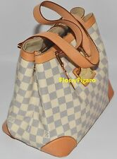 AUTHENTIC LOUIS VUITTON DAMIER AZUR HAMPSTEAD PM TOTE HANDBAG - PREOWNED