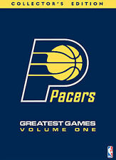 NBA Indiana Pacers Greatest Game Collection - Volume 1 DVD, 2007, 4-Disc Set NEW