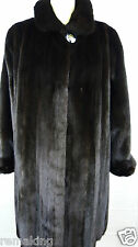 DARK  NERZ  PELZ  SWINGER  Gr 46HOPKA MINK  SAGA ROYAL FEMALES Coat Mex шуба