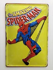 Marvel  Superhero,Spiderman Metal Signs/3D Embossed Steel Best Quality