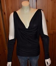 Cache Black Long Sleeve Top